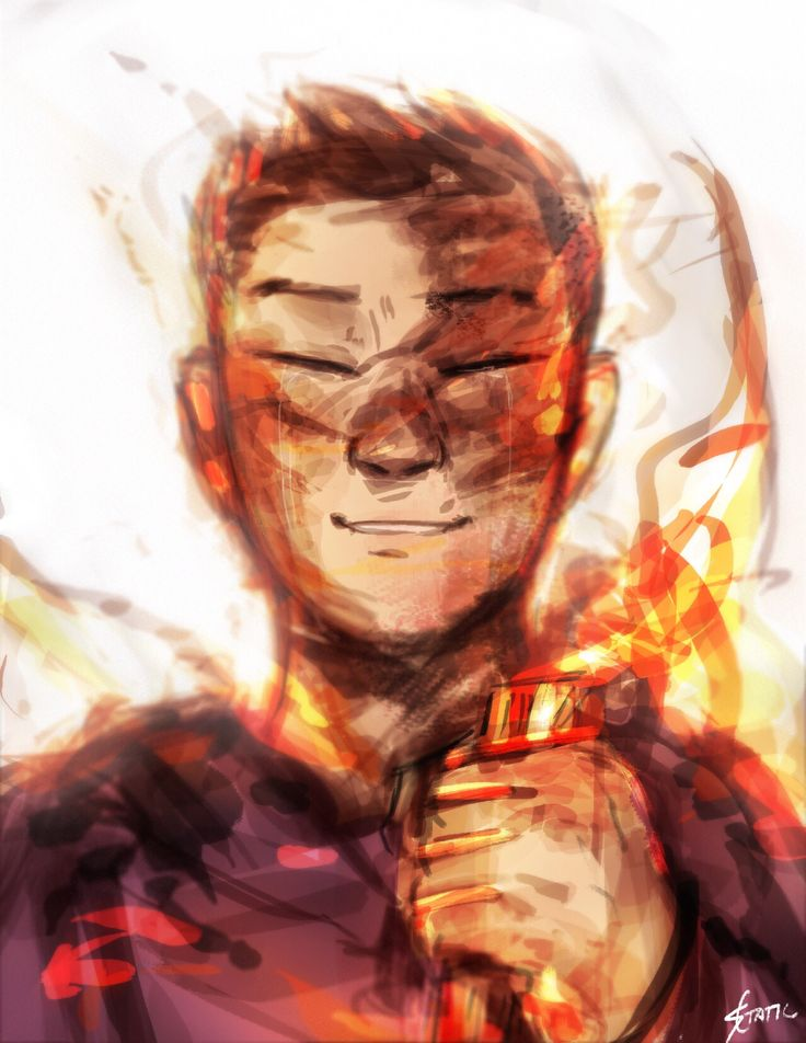 """If I'm going to burn, it might as well be bright.""<<why does everyone forget Frank he's the best! I'll fight"