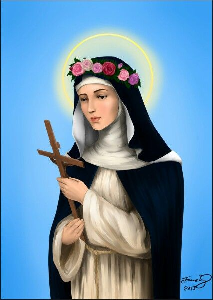 SAINT ROSE OF LIMA, PATRON SAINT OF FLORIST AND GARDENERS-----baka-no-bakadeviantart.com