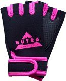 awesome Weightlifting Gloves – Nutra-Strength – Best Weight Lifting Gloves For Women and Men – 100% Money Back Guaranteed – Neoprene Gloves Available In Pink, Red, Blue and Yellow – Padded Weight Lifting Gloves With Wrist Support For Gym Fitness Bodybuilding Crossfit Workout Gloves Reviews