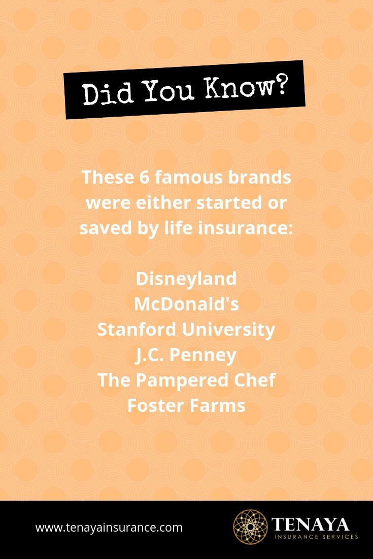 6 Famous Brands Started Or Saved By Life Insurance Life
