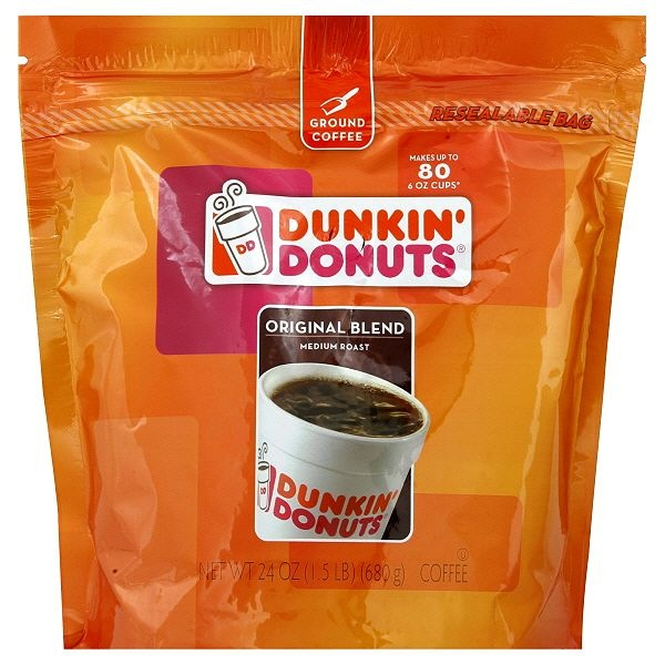 Dunkin' Donuts Coffee, Ground, Original Blend, Medium