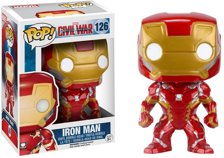 Pop! Marvel - Captain America: Civil War - Iron Man