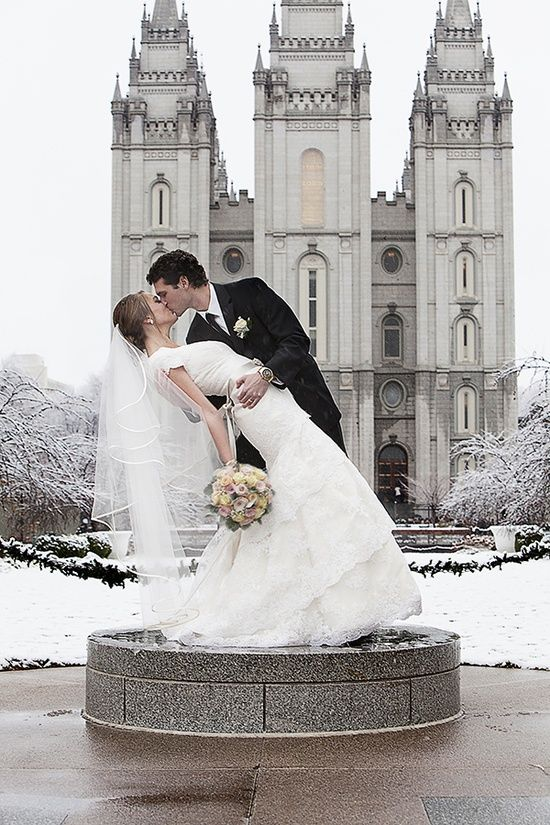 #mormon #wedding #temple because every couple that gets married in the temple needs to take adorable pictures in front of it
