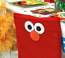 Pillowcase Elmo chair cover