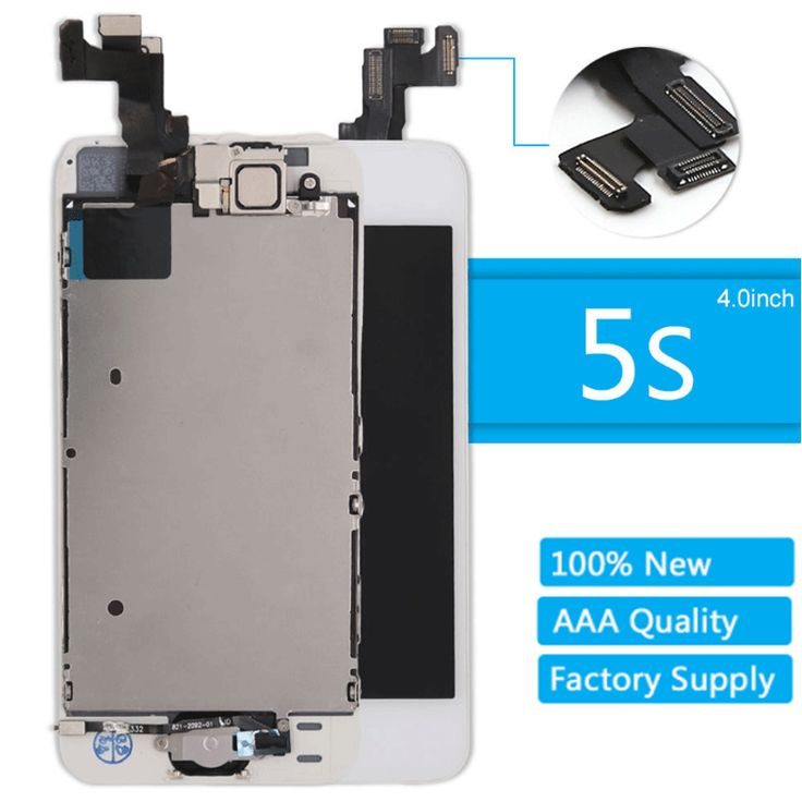 OEM For iPhone 5S LCD Display Screen Digitizer Replacement  Home Button Camera