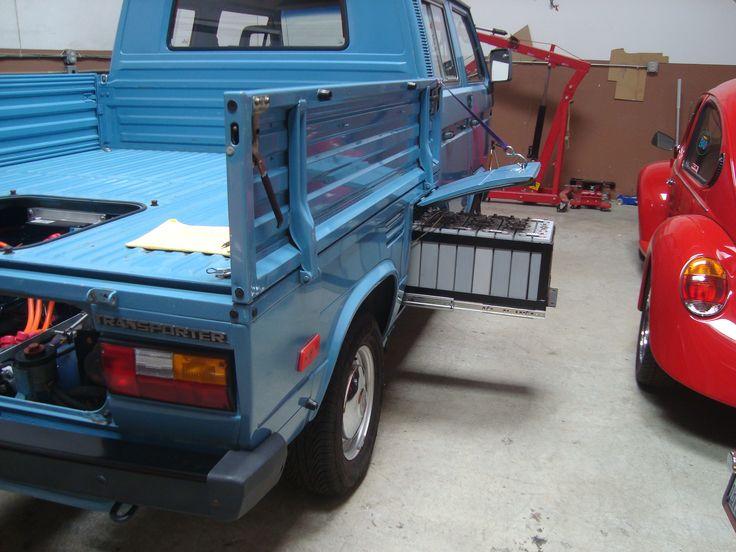 1991 VW Doka, converted by EV4U Custom Conversions.