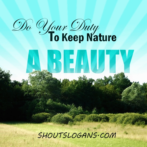 Trends For Nature Slogans On Save Environment In Hindi
