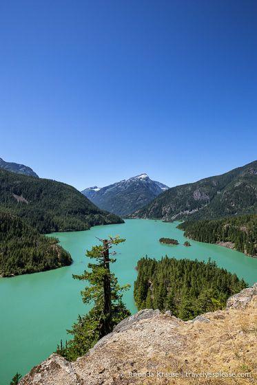 Diablo Lake- North Cascades Highway, Washington