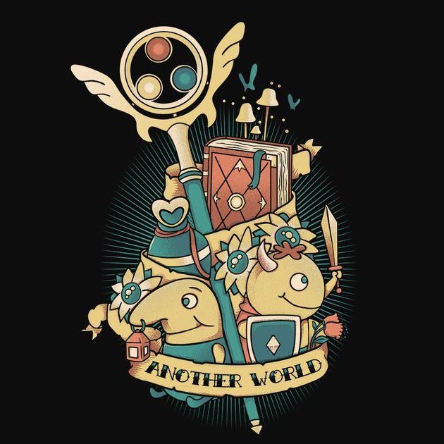 ANOTHER WORLD T-Shirt $12.99 Ni no Kuni tee at Pop Up Tee!