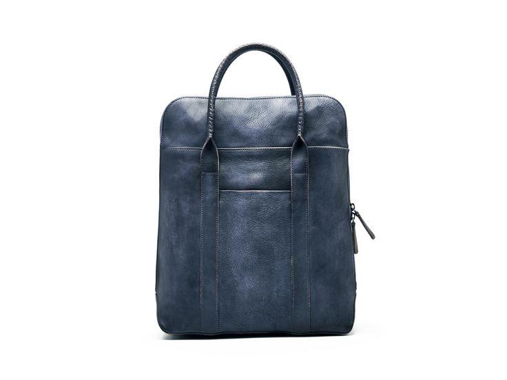 Handmade Full Grain Genuine Leather Briefcase Men Designer Handbag F75