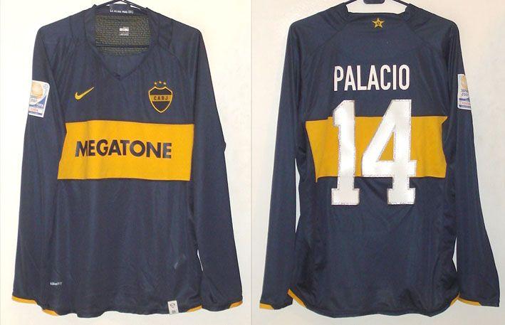 Boca Juniors Cup Shirt football shirt 2007