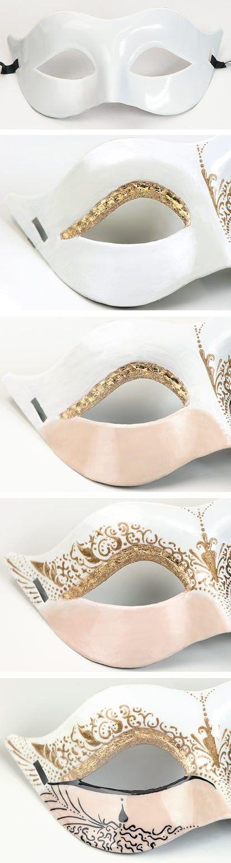 Nailart Anleitung Venezianische Maske     Venezianische Maske         Mit unserer DIY-Anleitung für eine Maske im venezianischen Stil bri...