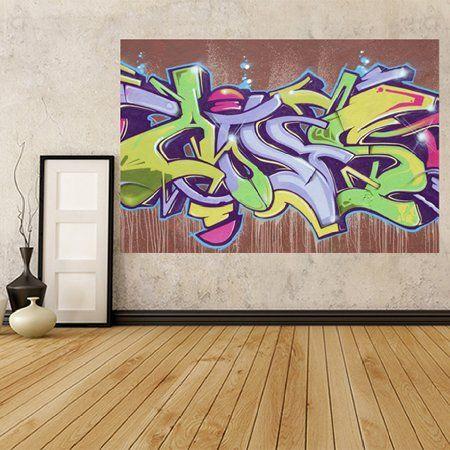 Les 13 meilleures images du tableau graffiti sur pinterest - Auto adhesif mural ...
