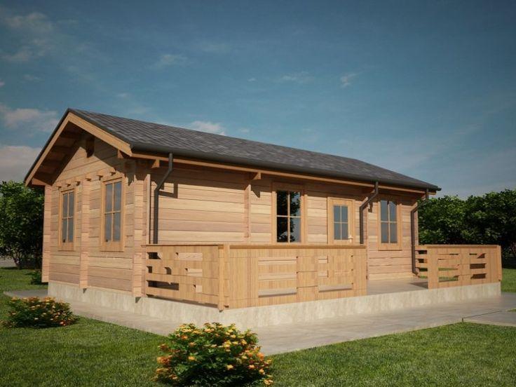 Houtskeletbouw Chalet Granada Houten Huis Bouwen Timber