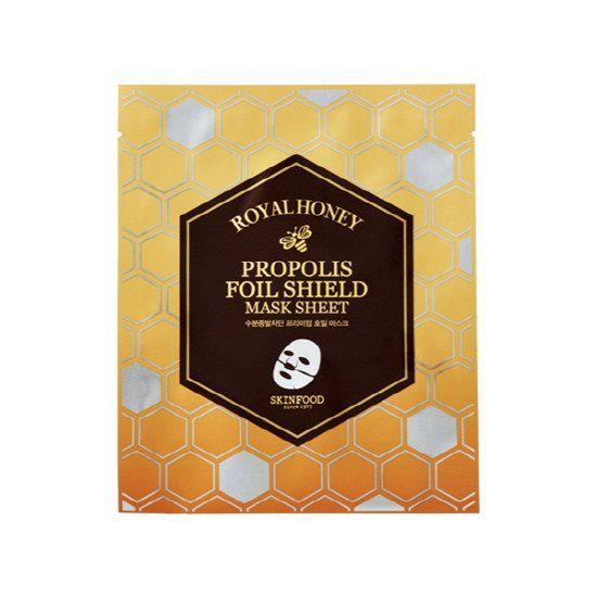 [SKINFOOD] Royal Honey Propolis Foil Shield Mask Sheet (1EA)