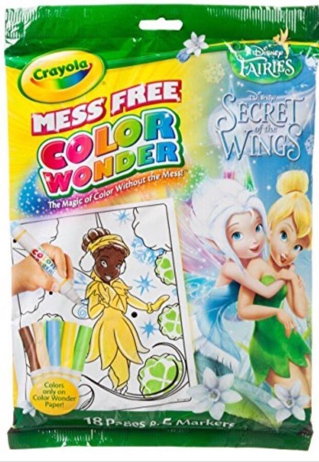 Crayola Color Wonder Disney Fairies SECRET OF THE WINGS new 71662221355   eBay