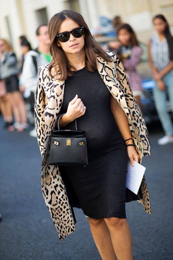 Miroslava Duma - Paris Street Style Spring 2015 - Best Street Style Paris Fashion Week - Harper's BAZAAR
