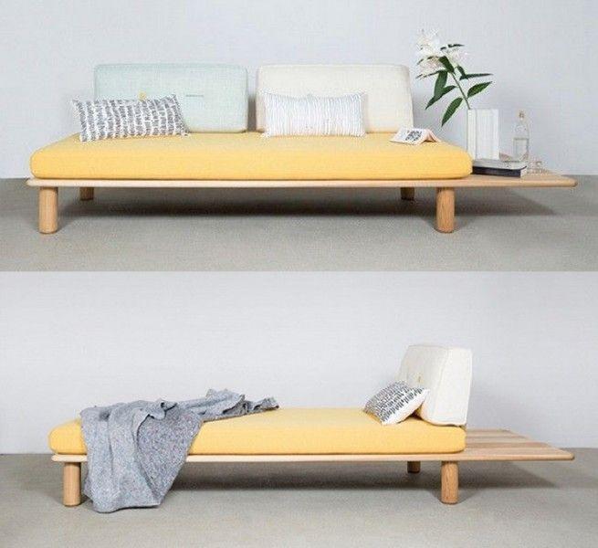 Las 25 mejores ideas sobre sof cama en pinterest y m s - Cama tipo japonesa ...