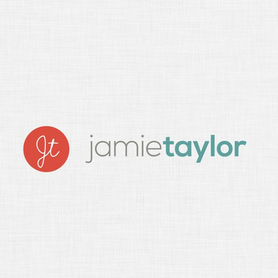 Professional Pre-made Coloured Letter Monogram Logo by fossdesign