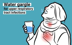 """Feeling a cold coming on? Try gargling with plain water. A study of close to 400 healthy volunteers found that those who gargled with plain water were significantly less likely to come down with upper-respiratory-tract infections (URTIs) — a type of infection often linked with colds and the flu — during the study period than those who didn't gargle. The researchers concluded that, """"Simple water gargling was effective to prevent URTIs among healthy people."""""""