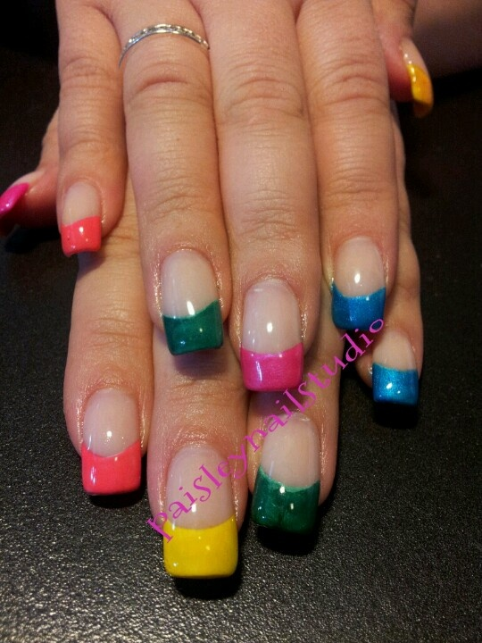 Shellac Nails Colors And Designs