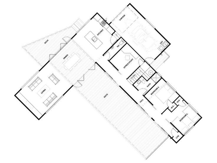 Best 25 L Shaped House Ideas On Pinterest L Shaped