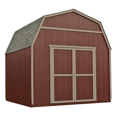 Shared from Flipp: Heartland 10' x 10' Rainier Wood Storage Shed in the Lowe's flyer