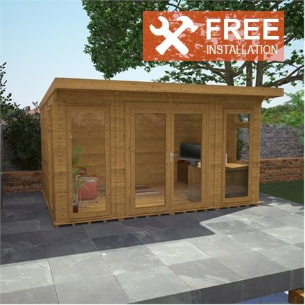 1000 ideas about insulated garden room on pinterest for Kitchen designs 3m x 4m