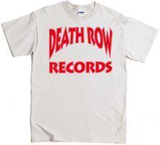 Death Row T-Shirt Dr Dre Snoop Dog Tupac NWA EAZY E Ruthless Nate Dogg Pound #music