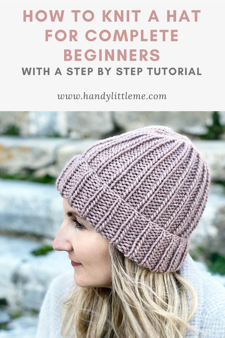 How To Knit A Hat With Straight Needles Beanie Knitting Patterns Free Easy Knit Hat Knitted Hat Patterns Free Women