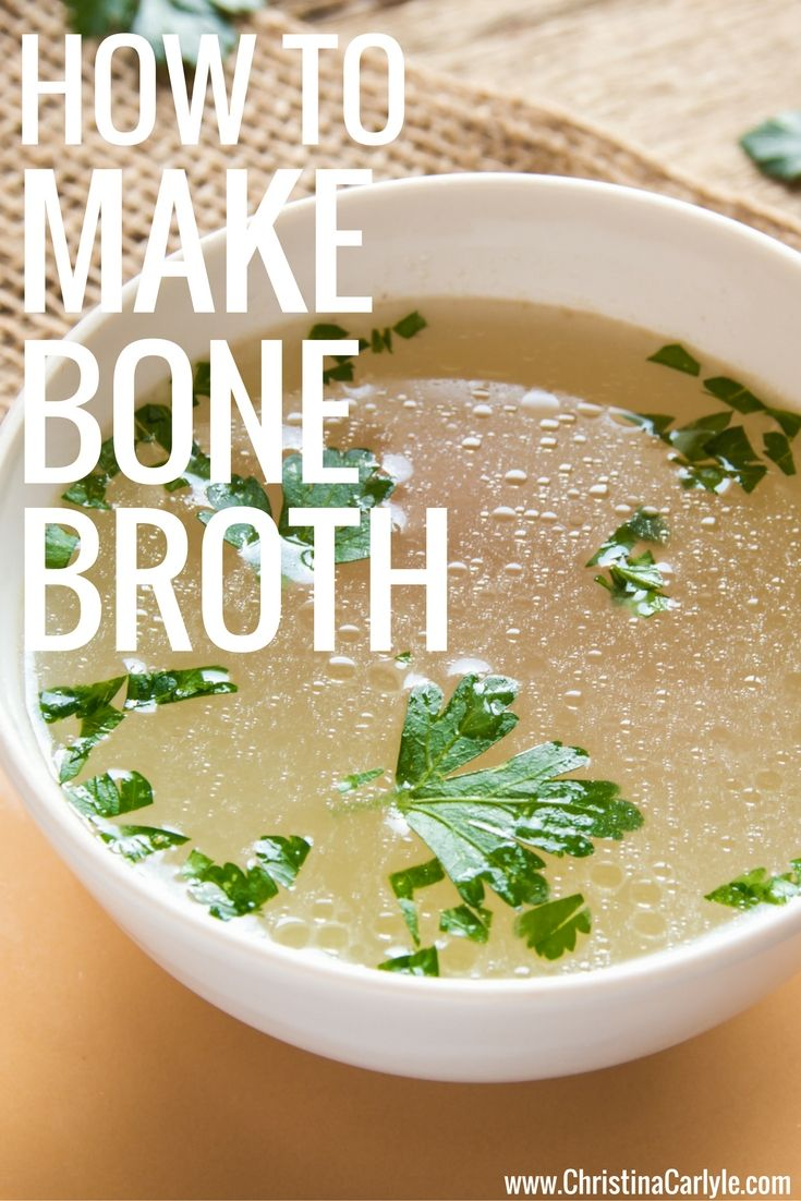 how to make clear broth