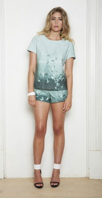 "Sheryl May's SS13/14 collection ""Breathe"" inspired by New Zealand's coastal beauty."