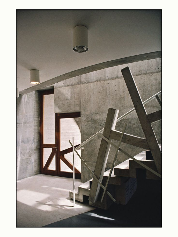 enric miralles moya arquitecte / edificio del rectorado, campus universitario de vigo
