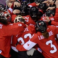 Sochi 2014 - CBC Sports - Canada's women defend Olympic hockey gold in OT thriller