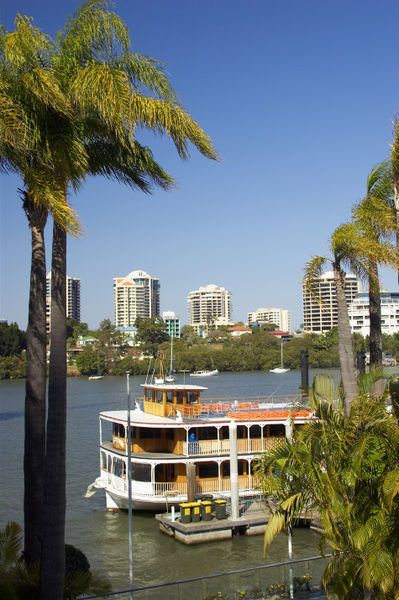 "Paddle Steamer, Brisbane River, Brisbane, Queensland, Australia....taken straight out of the book ""Lighthouse Bay"" by Kimberley Freeman!"
