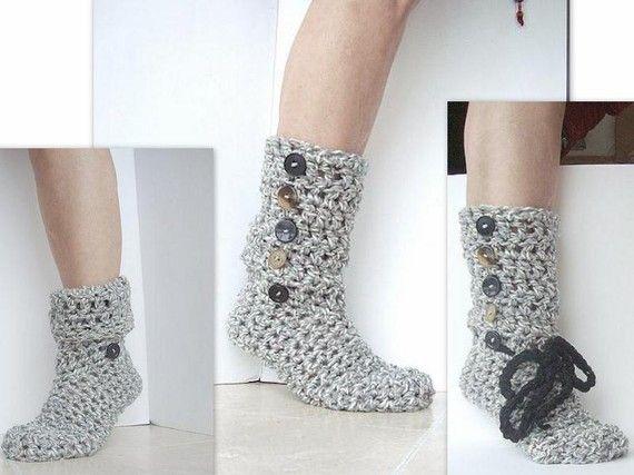 boots crochet