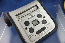 Omega Quartz Sensor LCD Digital Vintage Watch 1980s Touch Panel ,Demo Display