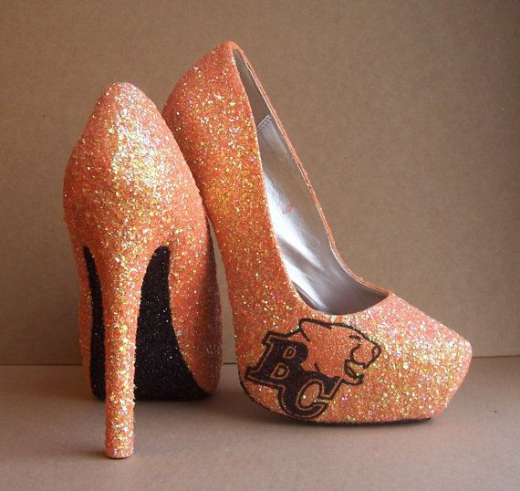 BC Lions High Heels by TattooedMary on Etsy, $120.00
