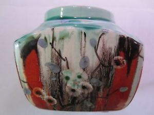 Clarice-Cliff-Very-Rare-Delecia-Cherry-Blossom-Sugar-Cube-Bowl