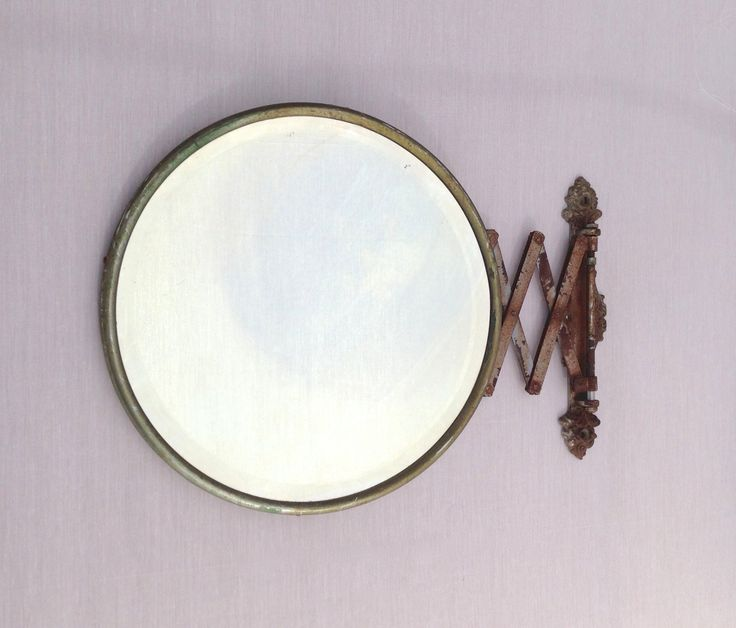 Vintage Extendable Shaving Mirror by TrouveLaJoie