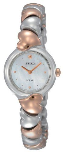 Seiko Solar Womens Quartz Watch SUP118 -- Want to know more on the watch, click on the image.
