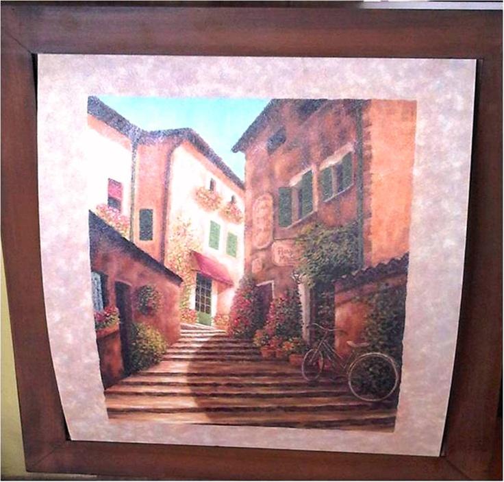 39 best 3d decoupage images on pinterest decoupage decoupage ideas and home ideas - Cuadros estilo colonial ...