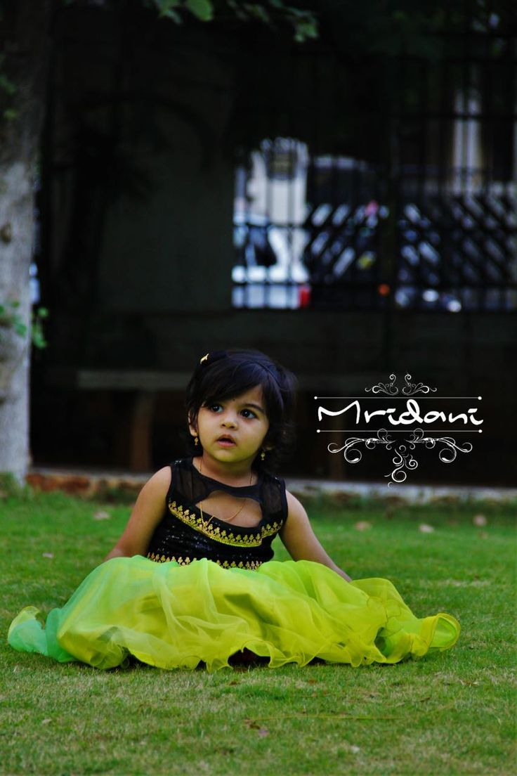 Pretty is a accident of nature Elegant is self created work of art... Beautiful baby dressed up @ Mridani clothing For details Contact:8886542333 Email:nkmridani16@gmail.com