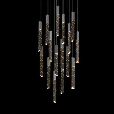 Trinity 16-Light LED Square Pendant by SONNEMAN Lighting