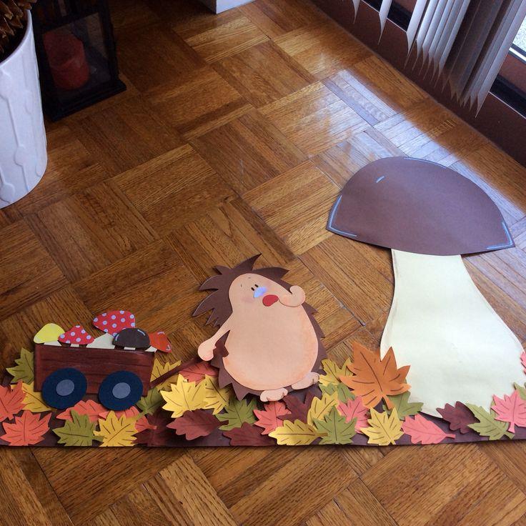 Herbst Fensterbild! Figura de otoño para colocar en la ventana!