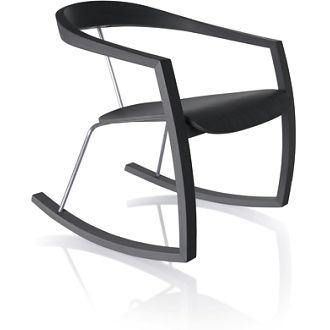 Ro Ro rocking chair by Tomoko Azumi