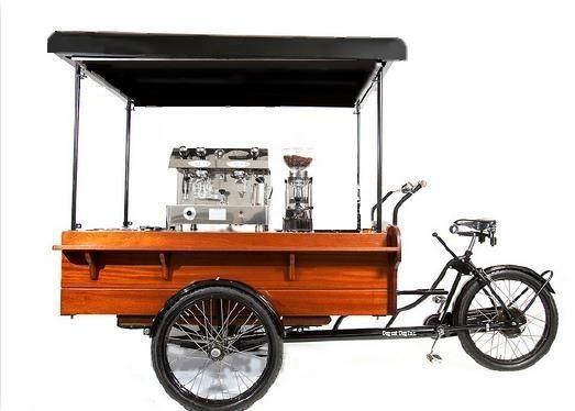 Coffee Carts, Coffee Bike, Coffee Trike, Espresso Bike, Coffee Tricycle, Astoria Coffee Machines, Fracino Coffee Machines,