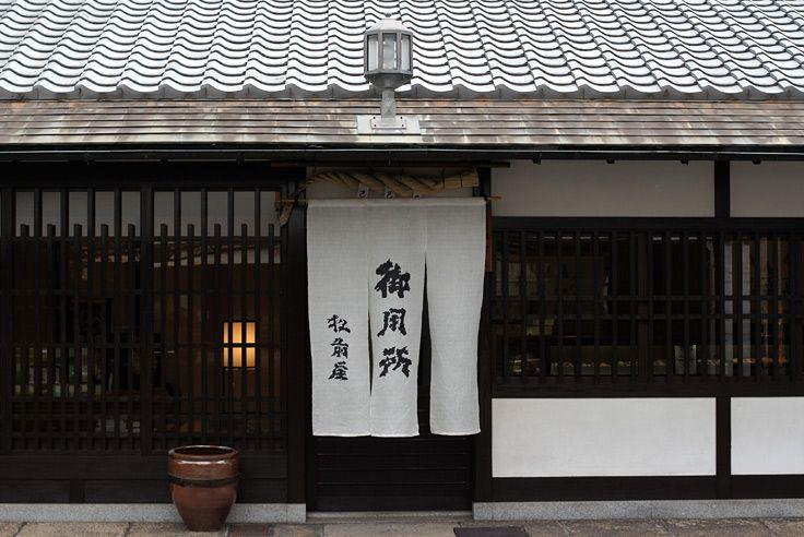 松前屋 昆布の老舗暖簾(のれん)
