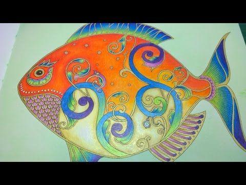 ASMR Adult Coloring Misc Lady 7 Blended Pencil Prismacolor Premier And Faber Castell