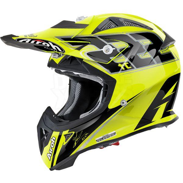 2015 Airoh Aviator Junior Kids Helmet - TC15